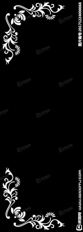 ppt 背景 背景图片 边框 模板 设计 相框 358_1000 竖版 竖屏